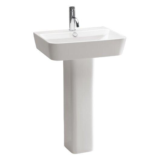 Bissonnet Emma Pedestal Bathroom Sink