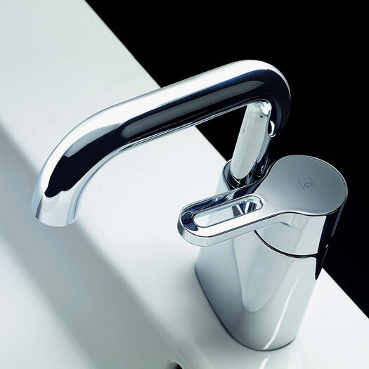Bissonnet Cromo Single Hole Bathroom Faucet with Single Handle