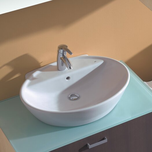Bissonnet Universal Soft Bathroom Sink