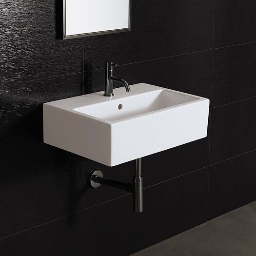 Bissonnet Area Boutique Wall Mount Bathroom Sink
