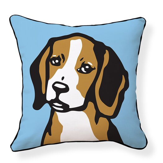 Naked Decor Beagle Pillow