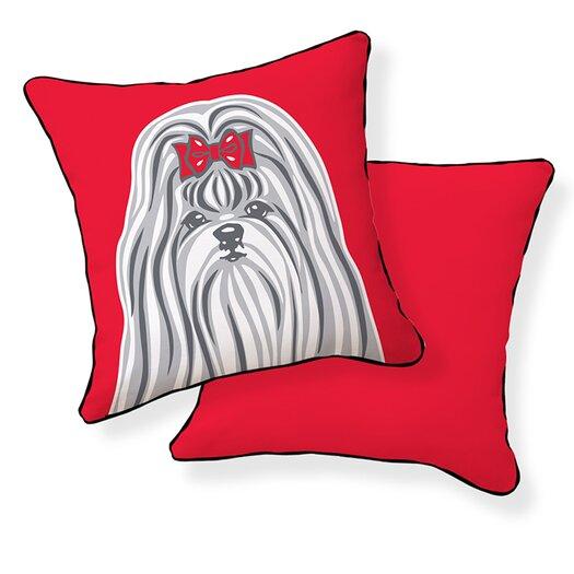 Naked Decor Shih Tzu Pillow