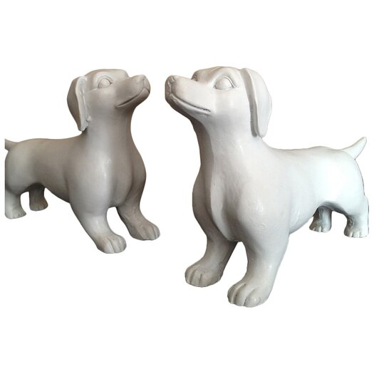 Naked Decor Modern Mini Dachshund Figurine