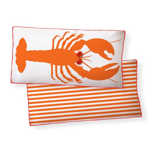 Naked Decor Lobster Double Sided Cotton Pillow