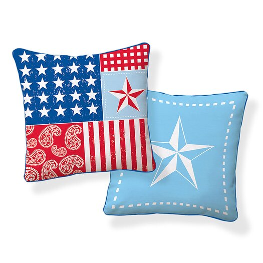 Naked Decor Americana Pillow