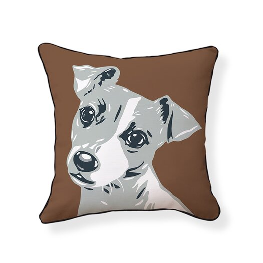 Naked Decor Jack Russell Pillow