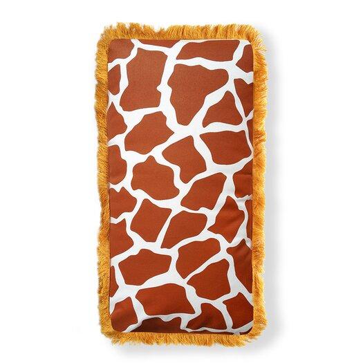 Naked Decor Beyond Africa Giraffe Throw Pillow