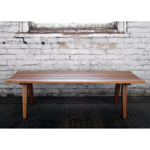 Semigood Design Rift Wooden Bench