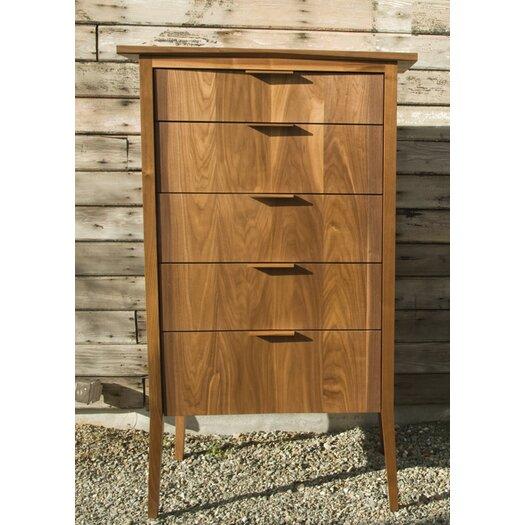 Semigood Design Rift 5 Drawer High Dresser