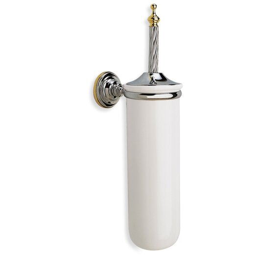 Stilhaus by Nameeks Giunone Wall Mounted Round Classic Style Toilet Brush Holder