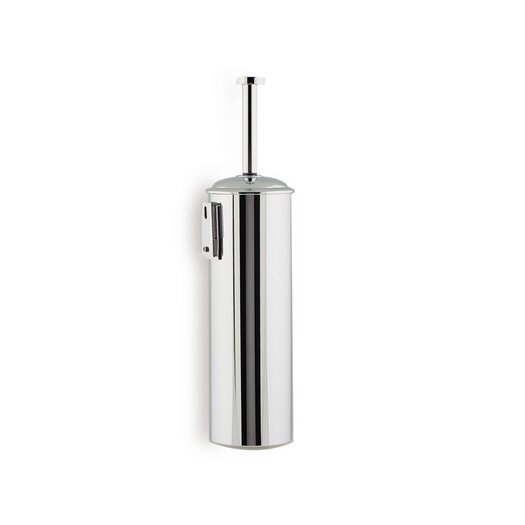 Stilhaus by Nameeks Medea Wall Mounted Rounded Toilet Brush Holder in Chrome