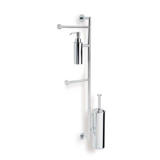 Stilhaus by Nameeks Medea Bathroom Butler in Chrome
