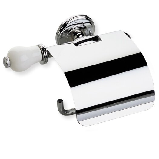 Stilhaus by Nameeks Nemi Wall Mounted Toilet Roll Holder with Cover and End Cap