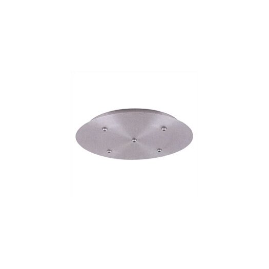 "LBL Lighting 18.75"" 120V Round Canopy for Five Pendant Configuration"