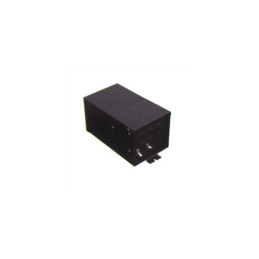 LBL Lighting Fusion Monorail 600W Remote Magnetic Transformer with Black Metal Housing - Multiple Voltage Options