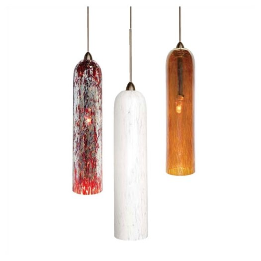LBL Lighting Stogie II 1 Light Mini Pendant