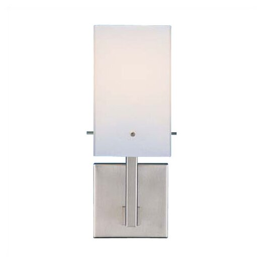 LBL Lighting 6 Casino I Hand Blown Cased Glass 1 Light Wall Sconce