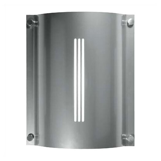 LBL Lighting Stingray Saturn 2 Light Outdoor Fluorescent Wall Sconce