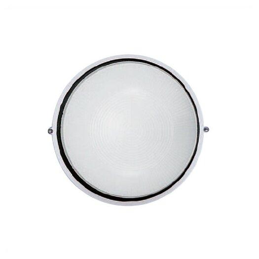 LBL Lighting Small 1 Light Round Wall Sconce