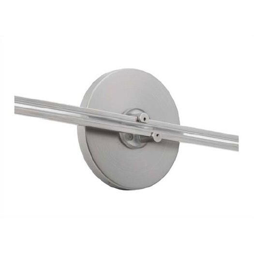 """LBL Lighting 4"""" Round Direct Feed Canopy for Fusion Wall Monorail"""