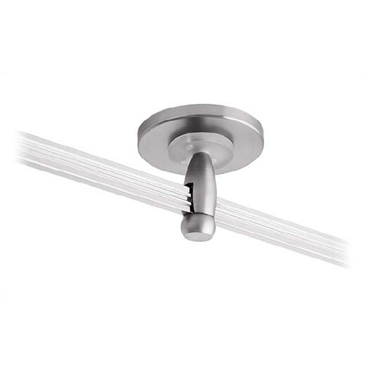 """LBL Lighting 2.75"""" Single Feed Direct Power Feed Canopy for LED Monorail"""