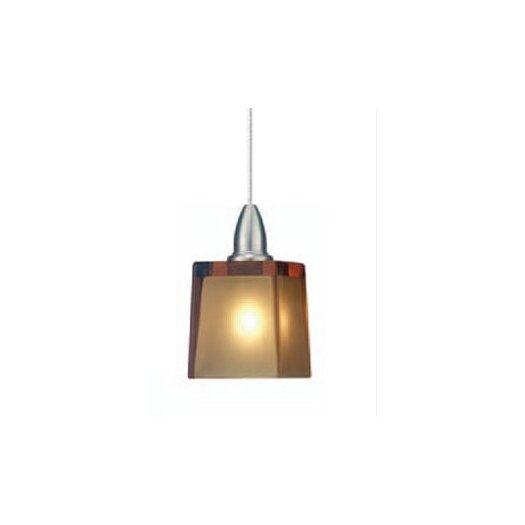 LBL Lighting Cube 1 Light Mini Pendant