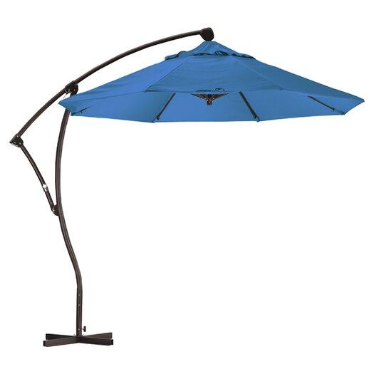 California Umbrella 9' Cantilever Market Umbrella