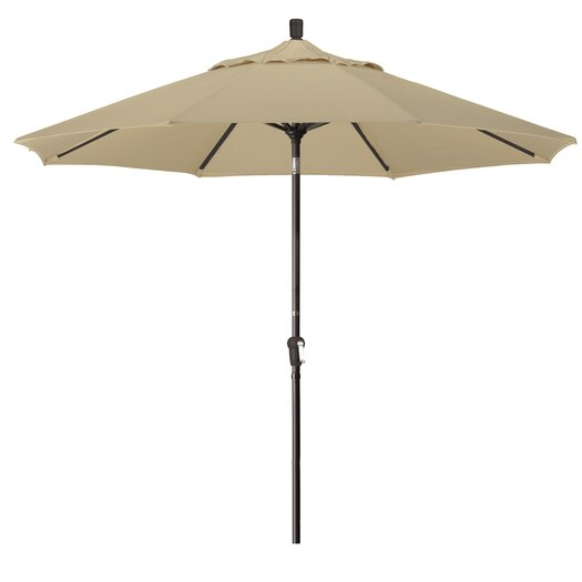 California Umbrella 9' Market Round Canopy Umbrella