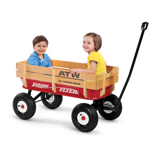 Radio Flyer All-Terrain Wagon Ride-On