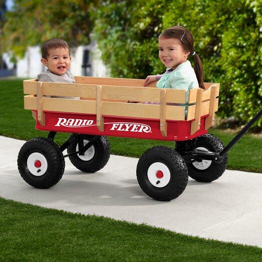 Radio Flyer All-Terrain Wagon Ride-On