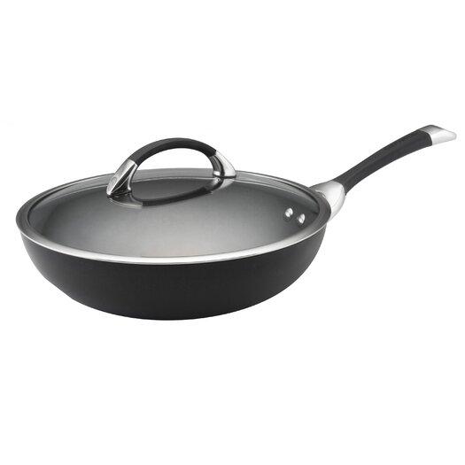 "Circulon Symmetry 12"" Covered Stir Fry Ultimate Pan"