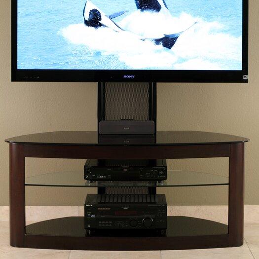 "Transdeco International 35"" - 65"" Flat Panel TV Stand"