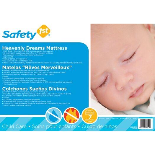 Safety 1st Heavenly Dreams Crib Mattress