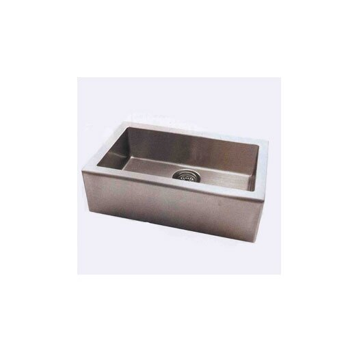 "Pegasus Apron 33"" x 20"" Single Extra Deep Bowl Kitchen Sink"