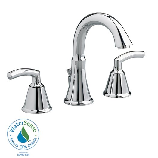 American Standard Tropic Widespread Bathroom Faucet with Double Lever Handles