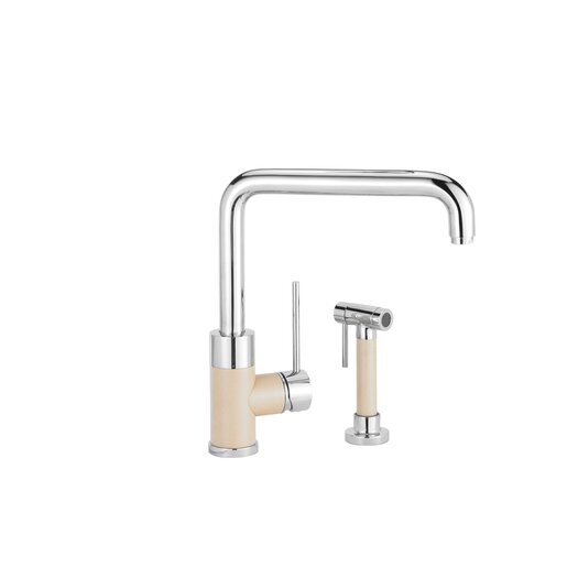 Blanco Purus I Single Handle Single Hole Kitchen Faucet with Side Spray
