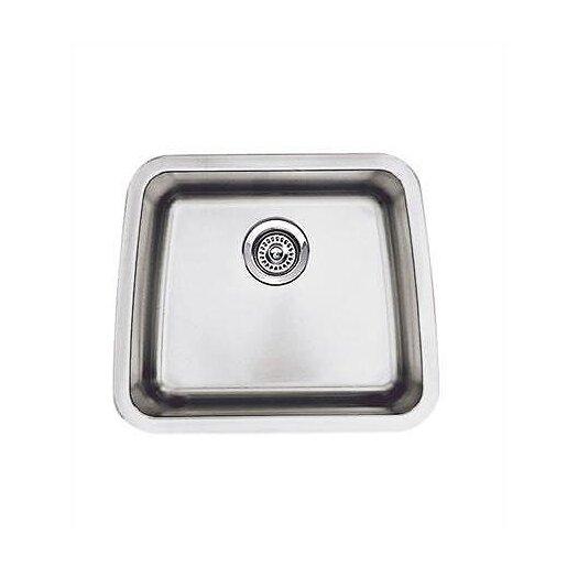 "Blanco Performa 20"" x 17"" Single Bowl Kitchen Sink"