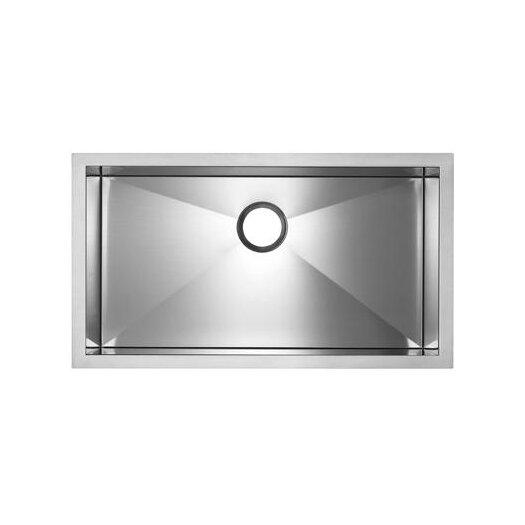 Blanco Precision Microedge Super Single Bowl Kitchen Sink