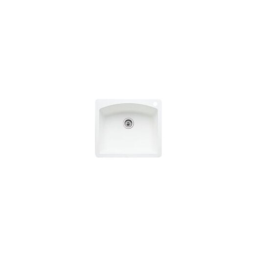 "Blanco Diamond 25"" x 22"" Single Bowl Drop-In Kitchen Sink"