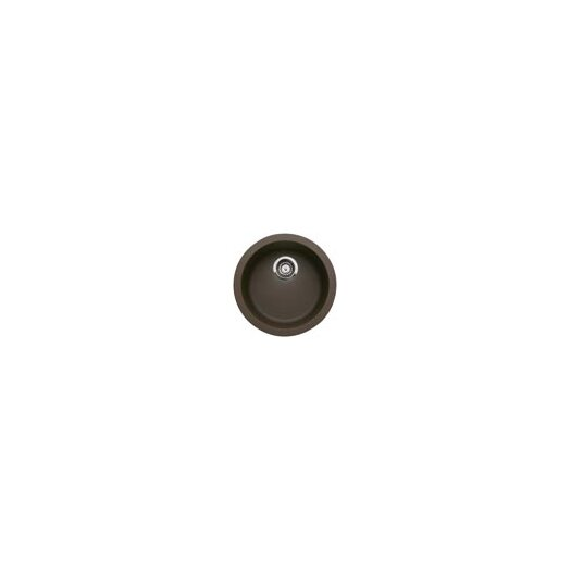 "Blanco Rondo 17.69"" x 17.69"" Single Bowl Kitchen Sink"