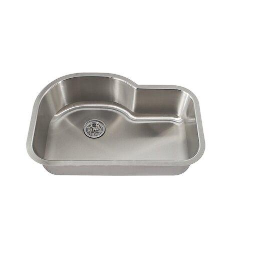 """Schon 31.5"""" x 21.13"""" Single Bowl Kitchen Sink"""