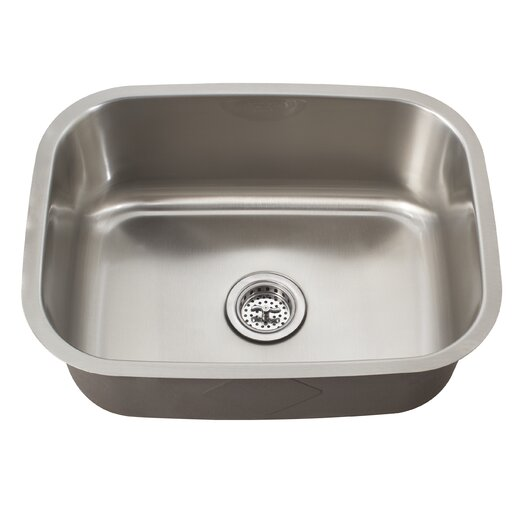 "Schon 21.44"" x 15.75"" Single Bowl Kitchen Sink"