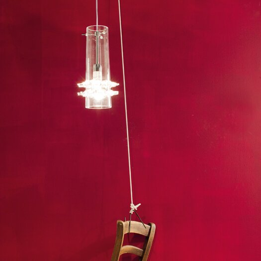 Studio Italia Design Lace Blown Glass Pendant