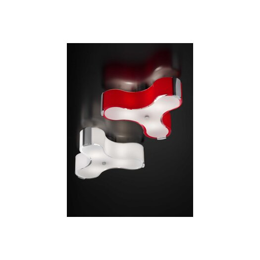 Studio Italia Design Tris Wall / Ceiling Light in Chrome