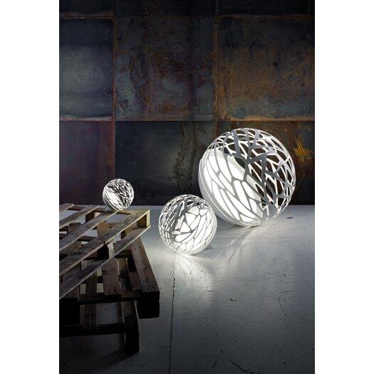"Studio Italia Design Kelly Laser Cut Sphere 15.74"" H Table Lamp"