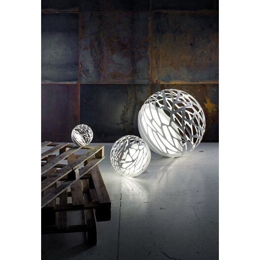 "Studio Italia Design Kelly Laser Cut Sphere 15.74"" H Table Lamp"