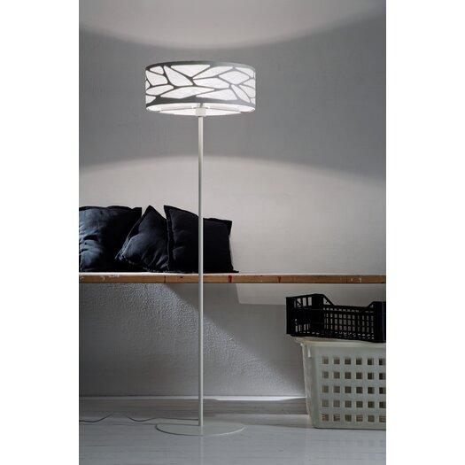 Studio Italia Design Grace Floor Lamp with Custom Fabric Diffuser