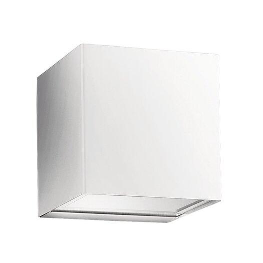 Studio Italia Design Laser Metal Cube Sconce