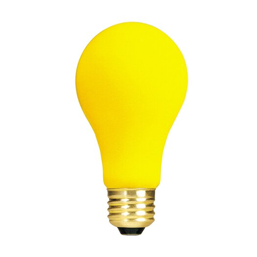 Bulbrite Industries Yellow 130-Volt (2700K) Incandescent Light Bulb
