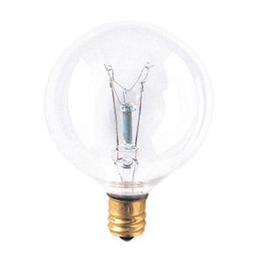 Bulbrite Industries Candelabra 25W 130-Volt (2700K) Incandescent Light Bulb